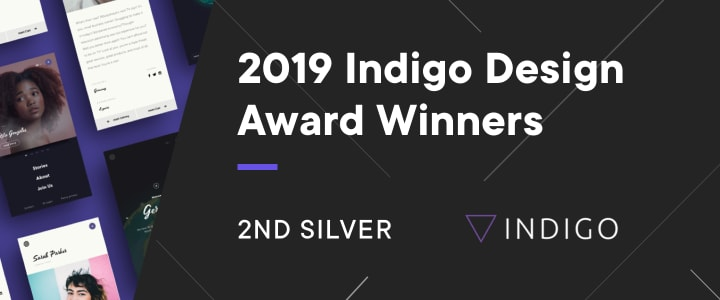 The Silver Indigo Award prize for Boldare!