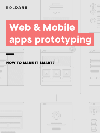 Web & Mobile apps prototyping