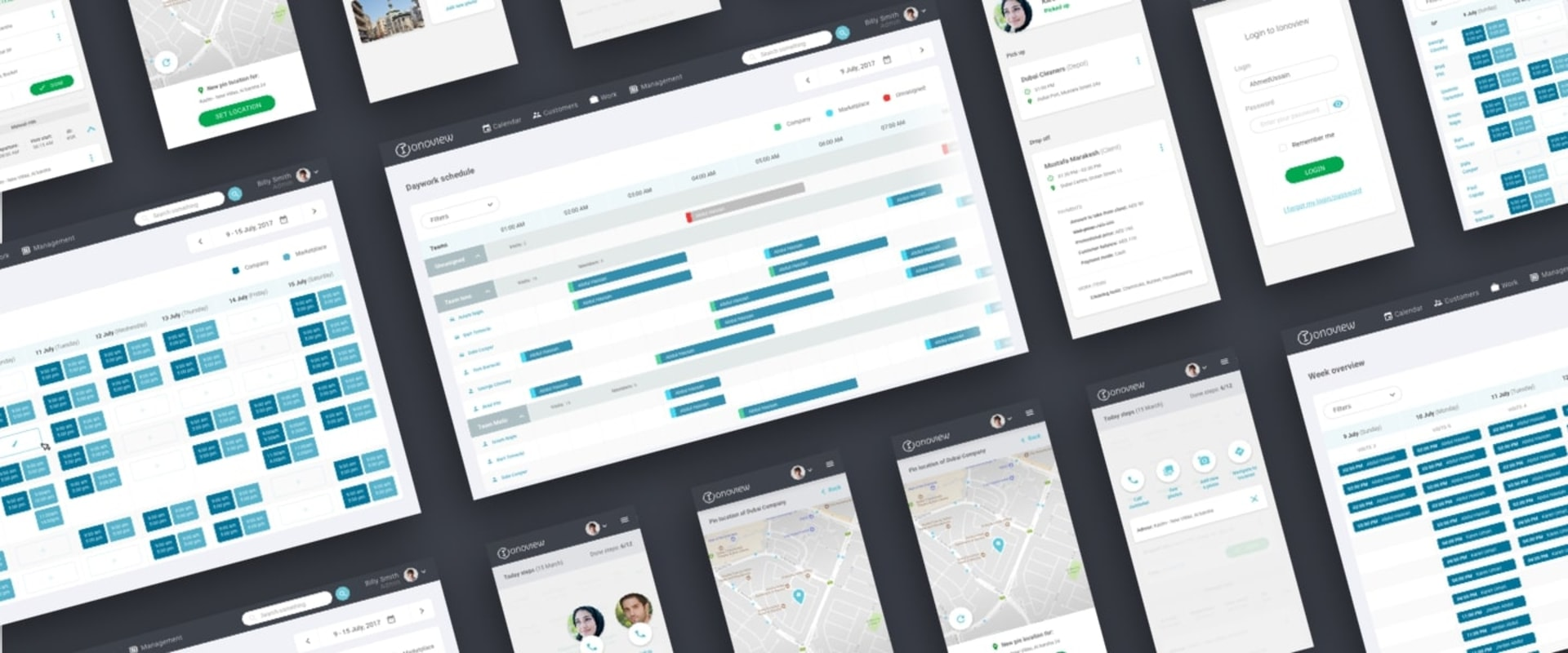 Ionoview Web App Mockup