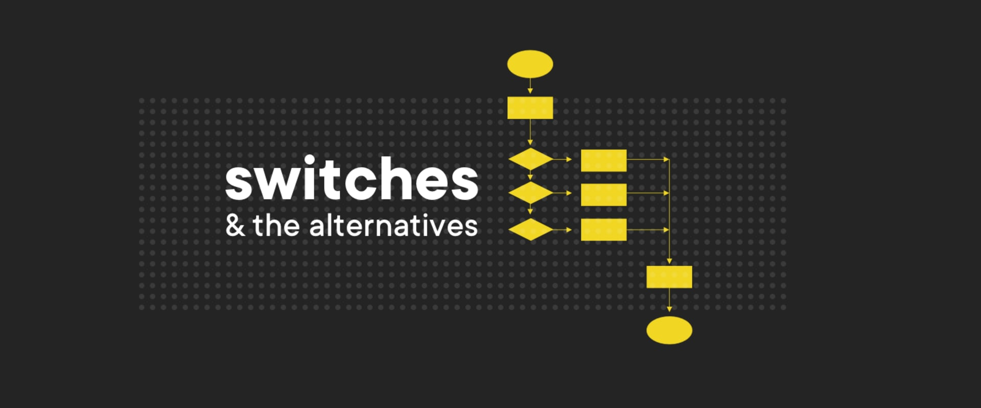 A short tale about switches and the alternatives in JavaScript