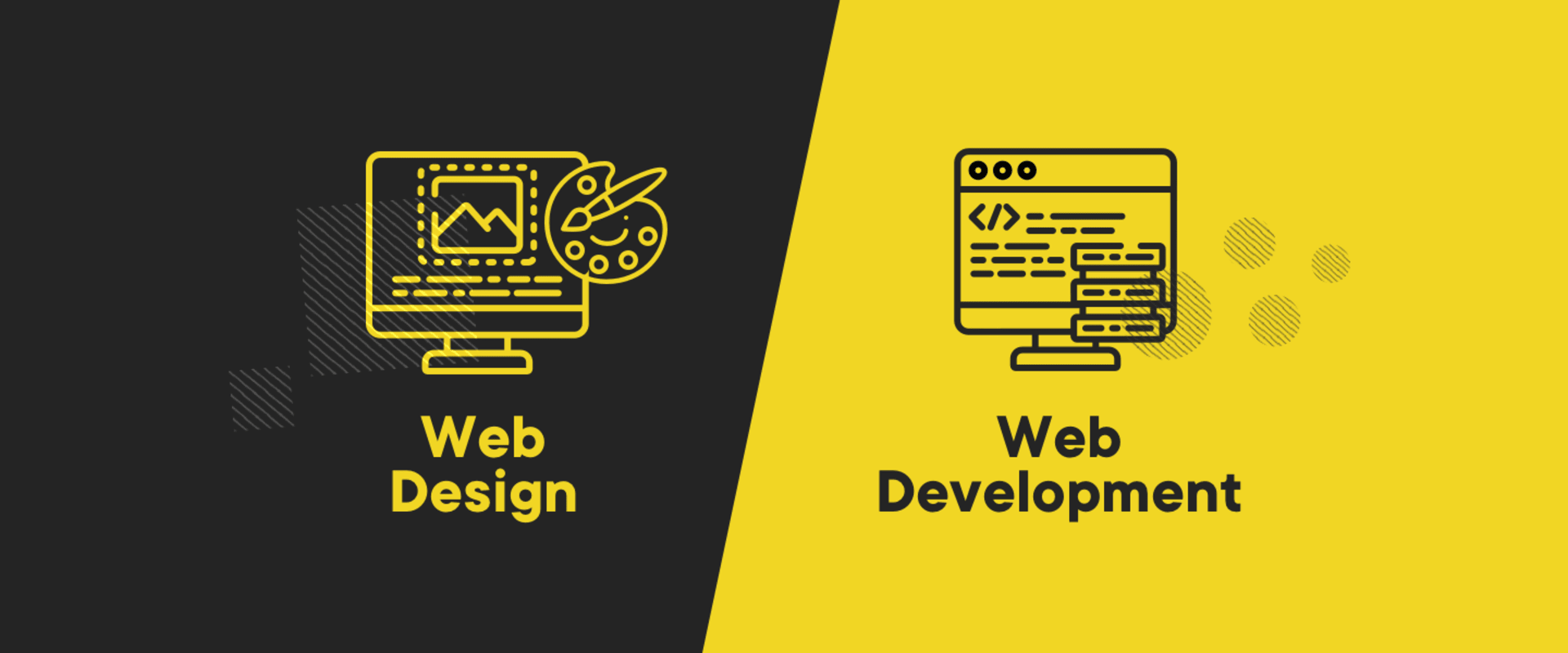 Web design vs. web development. What's the difference?