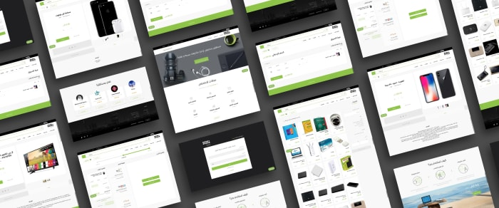 Case study of an e-commerce platform MVP mockup designed by Boldare