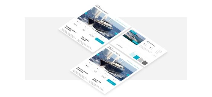 Eres Yachting moodboard