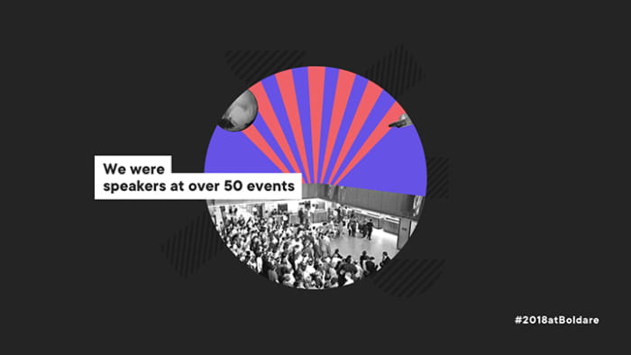 meetups and conferences