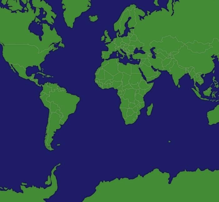 Web Mercator projection