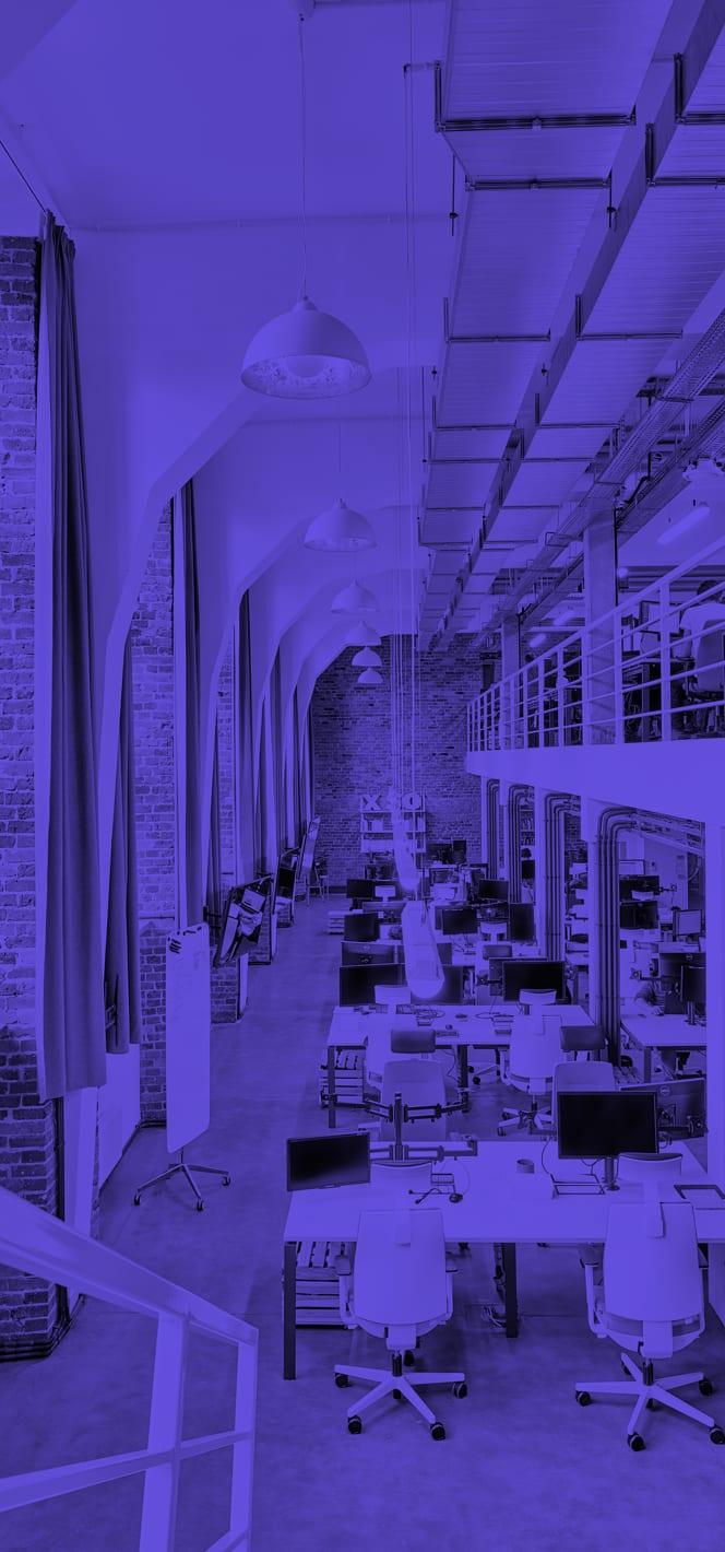 Boldare Office Open Space Purple