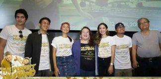 Para pendukung film The Perfect Husband antara lain: Dimas Anggara, Amanda Rawles, Maxime Bouttier, Bunga Zainal, Tisa, Slamet Rahardjo saat foto bersama (foto: Screenplay Films)
