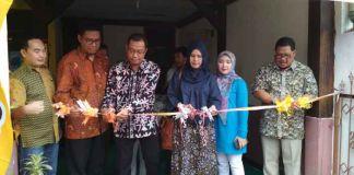peresmian balai inspirasi di kota Cimahi kerjasama Rumah Zakat dan ZIS Indosat.