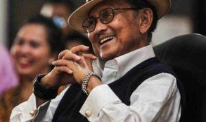 Former Indonesian President BJ Habibie