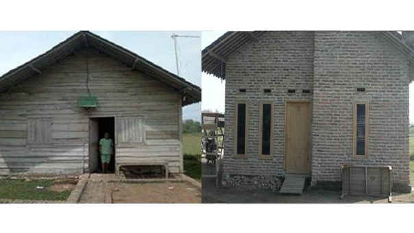 Pengembangan Lingkungan Masyarakat Melalui Program Bedah Rumah