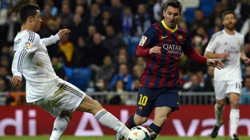 Real Madrid vs Barcelona bertemu pada pertandingan pertamanya di El Clasico pada musim 2015-2016. (AFP Photo)