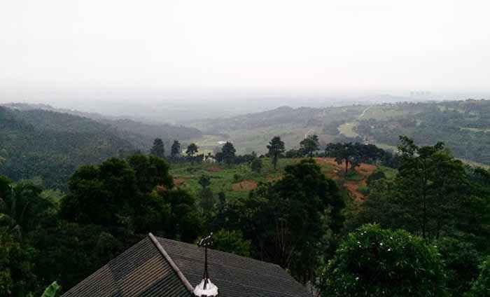 Panorama Keindahan Kota Bogor Dari Atas Bukit Depok Pos