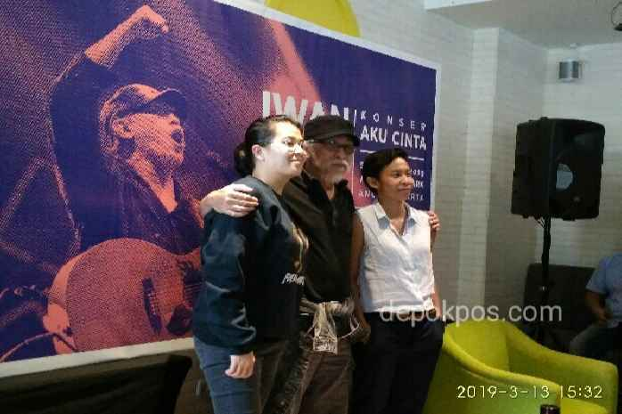 Ki-Ka: Cikal, Iwan Fals dan Shilla (foto: Karmila)