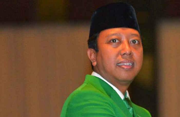 Ketum Partai Persatuan Pembangunan (PPP) Romahurmuziy alias Romi.
