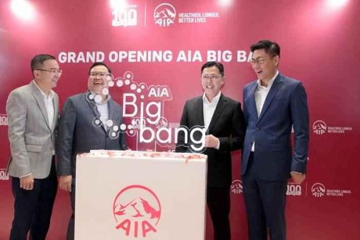 PT AIA FINANCIAL (AIA) meresmikan pembukaan AIA Big Bang, Jumat (15/3)