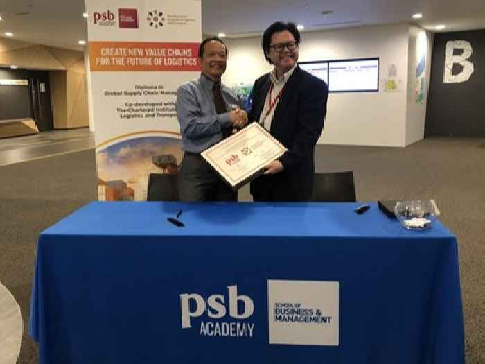 Singapore logistics charter and PSB Academy team up to deliver on