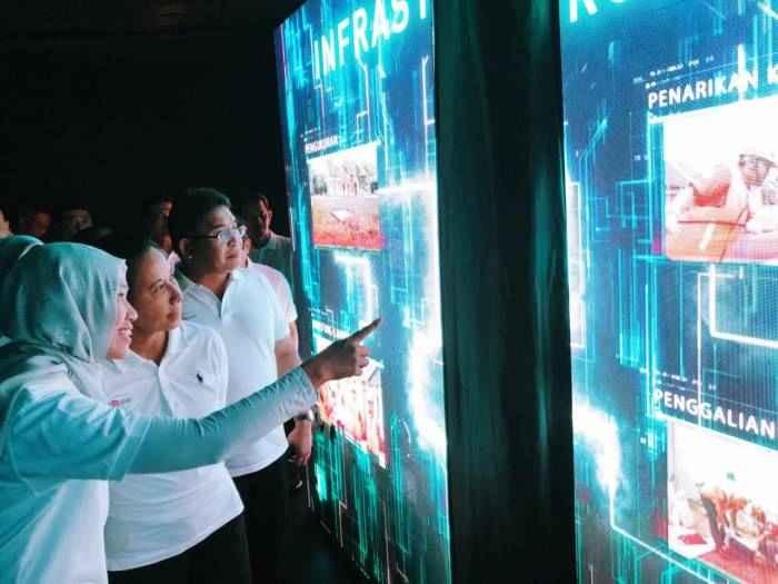 "Menteri BUMN Rini M. Soemarno hadir dalam acara ""The Next IndiHome"" yang dilaksanakan oleh PT Telkom Indonesia"