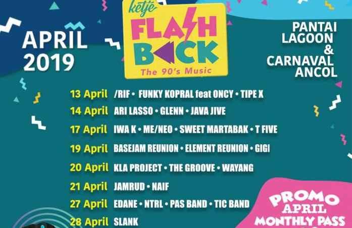 Siap Siap Ada Konser Musik 90 An Selama Bulan April Di Ancol