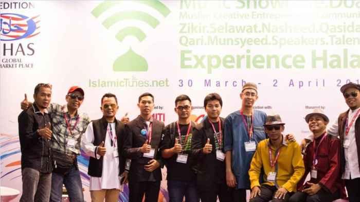 IslamicTunes saat ikut berpartipasi pada event MIHAS di Kuala Lumpur - Malaysia. (Dok. Istimewa)