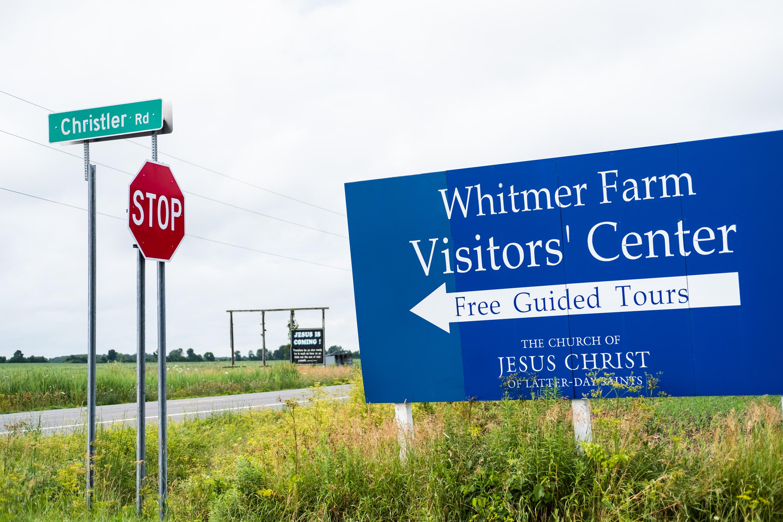 Junction before Whitmer Farm, Waterloo, NY, 2019