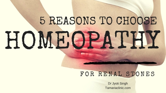 5 reasons to choose homeopathy for kidney stone