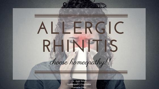 HOMEOPATHY & ALLERGIC RHINITIS!!