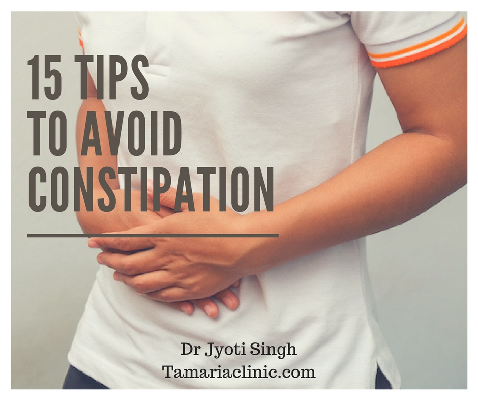 Diet for constipation