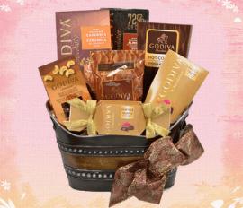 Godivia Gift Baskets for ocassions