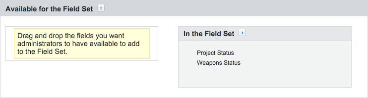 Battle station field set