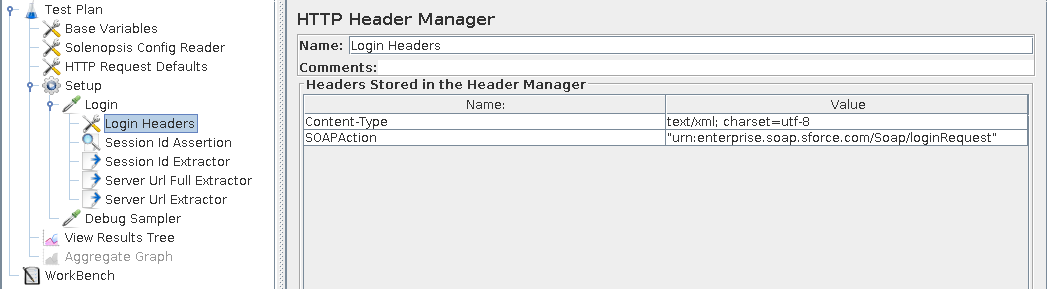 login headers