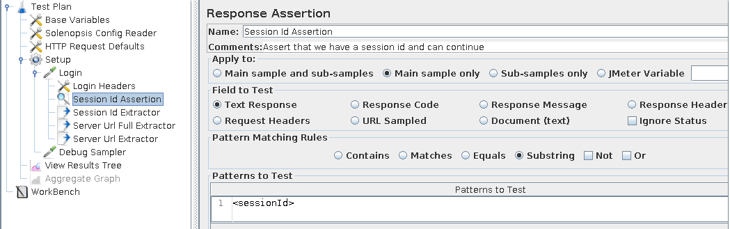session id assertion