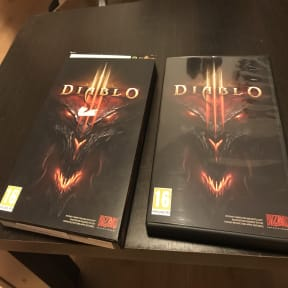 Diablo 3 boxes for collection
