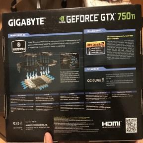 Thumbnail 3 for GPU GIGABYTE GeForce GTX 750 Ti OC WindForce 2X 2GB GDDR5 128-bit