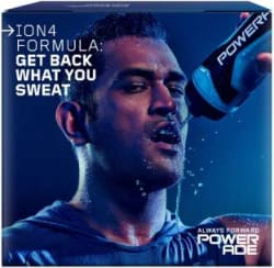 Powerade Sports Hydration Drink 6x0.5 L, Mountain Blast Flavored