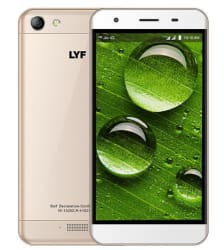 LYF WATER 11 (16 GB,Gold)