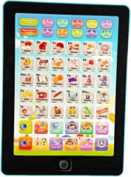 Miss & Chief Fun Learning Tablet with Songs, Spelling and Test Blue