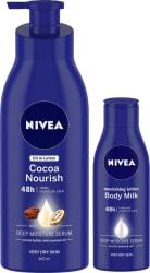 NIVEA Cocoa Nourish and Body Milk Nourishing Lotion 520 ml