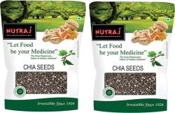 Nutraj Chia Seeds 400 g, Pack of 2