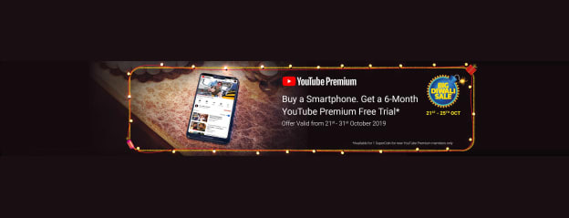Youtube Premium 73d6 72a3 Store Online - Buy Youtube Premium 73d6 72a3 Online at Best Price in India