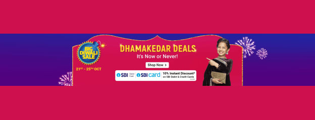 Flipkart Offers & Deals of the Day - Get Best Discounts on Mobiles, Electronics, Fashion & Home etc.