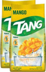 Tang Mango Instant Drink Mix, 500g Each 1 kg, Pack of 2