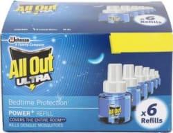 All Out Ultra Mosquito Vaporiser Refill 6 x 45 ml