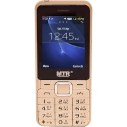 MTR BULLET DUAL SIM MOBILE PHONE WITH 2.4 INCH DISPLAY, WITH POWERFUL BOOM SPEAKER WITH LIGHT