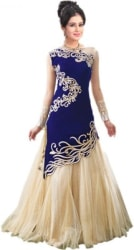Dr Creation Straight Gown Blue
