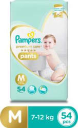 Pampers Premium Care Pants Diapers - M 54 Pieces