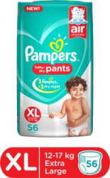 Pampers Baby-Dry Pants Diaper - XL 56 Pieces