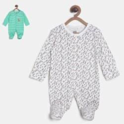 Mini Klub Baby Boys Multicolor Sleepsuit