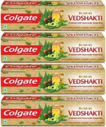 Colgate Swarna Vedshakti Toothpaste 800 g, Pack of 4