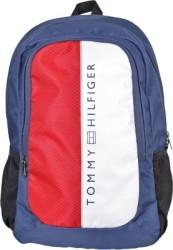 Tommy Hilfiger Biker Club Alaska 23.6 L Medium Laptop Backpack Red, Blue