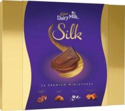 Cadbury Dairy Milk Silk Miniatures Chocolate Gift Pack, 240 g Bars(240 g)
